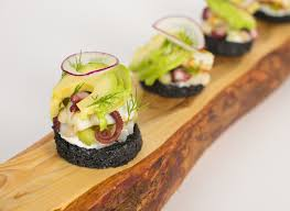 canape toast seafood and avocado toast recipes