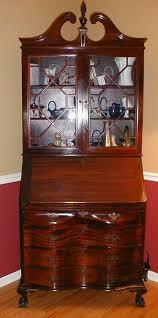 secretary desk bookcase antique mahogany secretary desk with