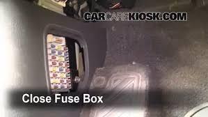 interior fuse box location 2003 2009 kia sorento 2003 kia