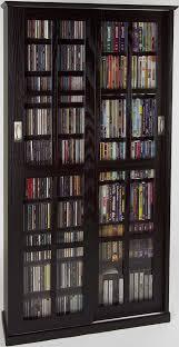 leslie dame media storage cabinet amazon com leslie dame double cd dvd wall rack media storage in with