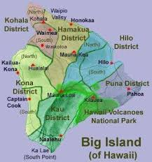 map of hawaii big island big island map hawaii aloha vacation cottages