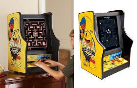 Galaga Arcade Cabinet Pac Man Ms Pac Man Galaga Tabletop Arcade Game The Green Head