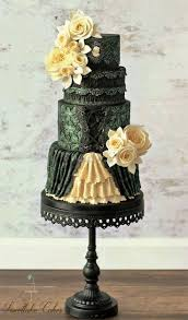 Halloween Wedding Cake Toppers 51 Best Anniversary Cakes Images On Pinterest Halloween Cakes