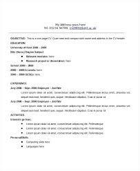 Career Objective Example Resume Objective Sample Of Resume U2013 Topshoppingnetwork Com
