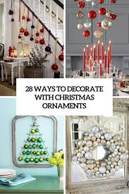 how to use ornaments in home decor 28 ideas digsdigs