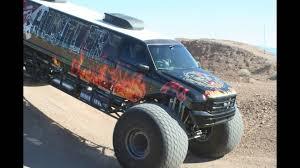 monster truck off road videos sin city hustler excitement off roading monster truck limousine