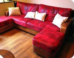 comment renover un canapé en cuir renover un canape en cuir renovation canape mees dun en u renovation