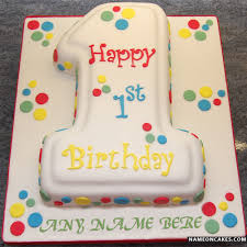1st birthday cake cake for 1st birthday with name