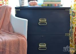 painting a file cabinet a caign dresser inspired filing cabinet makeover win the entire