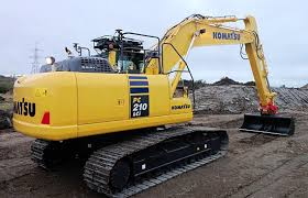 first uk sale of pc210lci 10 intelligent machine control excavator