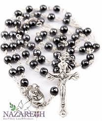 hematite rosary hematite rosary black necklace with