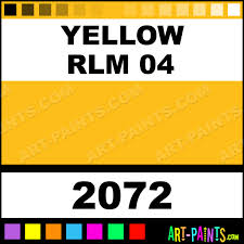 yellow rlm 04 international military enamel paints 2072 yellow