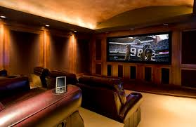 gentleman u0027s pub traditional home theater portland by