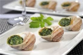 escargot cuisiné liste des recettes aux escargots escargot