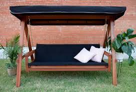 3 Seater Garden Swing Chair Lautan Avoca 3 Seat Porch Swing Daybed U0026 Reviews Wayfair