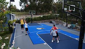 Build A Basketball Court In Backyard 10 Game Court Building Tips For New England
