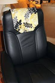 recliner chair headrest cover recliner chair headrest cover black