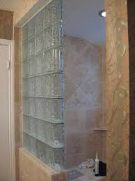 glass block bathroom ideas glass block shower stall different way to do glass block showers