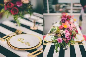 Black Gold Wedding Decorations Hello May Show Me Black Gold Wild Flower Reception Styling