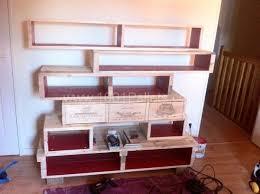 Pallet Wood Bookshelf The 25 Best Pallet Bookshelves Ideas On Pinterest Diy Pallet