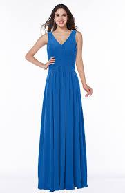 royal blue bridesmaid dresses royal blue bridesmaid dress a line v neck sleeveless zip