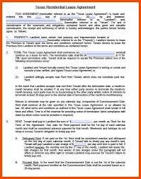 apartment lease template program format