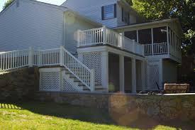Patio Designs Under Deck by Under Deck Screen Porch High Quality Home Design