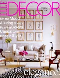 home decor magazine the magazine combines the hottest trends in high fashion and