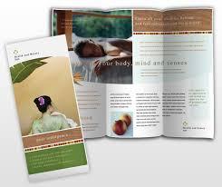 health and beauty spa brochure template dtp ideas pinterest