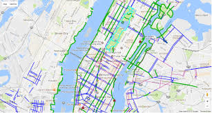 Dc Metro Map Overlay by The 8 Best Bike Maps For New Yorkers Offmetro Ny