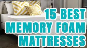 best memory foam mattress 2016 2017 u2013 top 15 memory foam