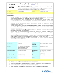 Office Manager Job Description Resume by Office Manager Duties For Resume Template Examples