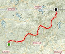 appalachian trail springer mountain to carolina border