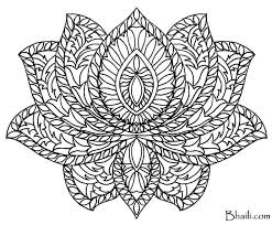 mandala coloring pages free mandala coloring page bhaili your friend