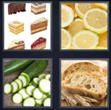 4 pics 1 word cakes orange cucumber bread4pics1wordanswer org