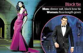 decoding the dress code is black tie staging a comeback