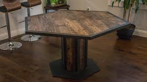 rustic round dining table modern rustic dining room sets for