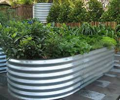 Corrugated Metal Garden Beds Raised Corrugated Veggie And Garden Beds Adelaide South Australia