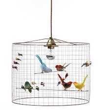 how to make a birdcage chandelier la volière small bird cage pendant by mathieu challières amazon