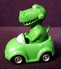 toy story dinosaur rex car toy 1 5 8 u0027 long rubber figure
