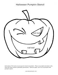 Zombie Pumpkin Stencil by Kidscanhavefun Blog Kids Activities Crafts Games Party