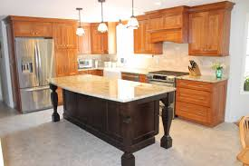 kitchen remodeling in bow nh granite state cabinetry traditional kitchen with large center island