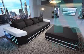 canape profond canapé skyline ac éclairage led nativo mobilier design