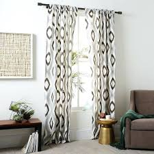 Slate Gray Curtains Gray And Brown Curtains Teawing Co
