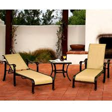 Venice Outdoor Furniture by Venice Sling Outdoor Chaise Patio Set Caluco