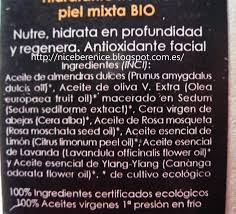 bere nice matarrania hidratante nutritiva piel mixta bio