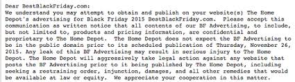 black friday leak home depot black friday ad scan leak date predictions for 2016