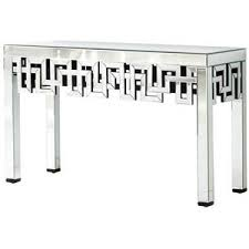 Clear Console Table Mirrored Console Tables Polyvore