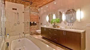 Bathroom Wall Designs Industrial Style Loft In San Francisco Showcasing An Impressive