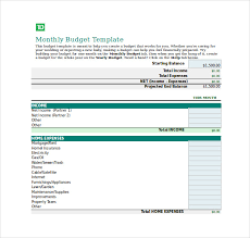 12 budget tracking templates u2013 free sample example format